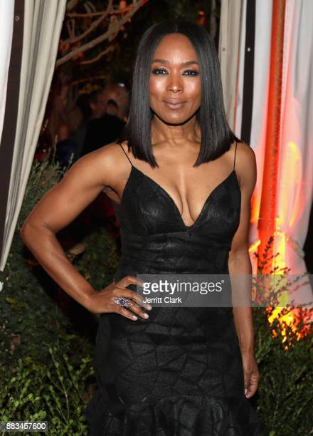 Angela Bassett at the LAND of distraction Launch Party at Chateau Marmont on November 30 2017 in Los Angeles California