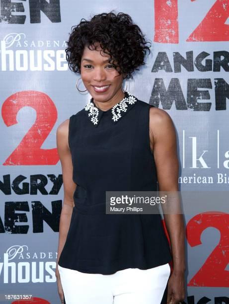 Angela Bassett attends '12 Angry Men' at the Pasadena Playhouse on November 10 2013 in Pasadena California