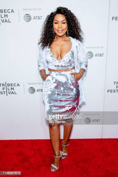Angela Bassett attends Awards Night 2019 Tribeca Film Festival at BMCC Tribeca PAC on May 02 2019 in New York City