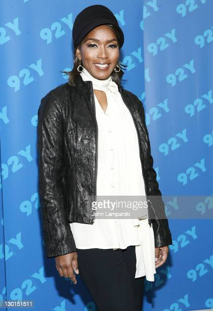 Angela Bassett attends Broadway Talks Conversations with Angela Bassett at 92nd Street Y on October 23, 2011 in New York City.