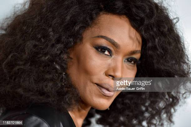 Angela Bassett attends FX's American Horror Story 100th Episode Celebration at Hollywood Forever on October 26 2019 in Hollywood California