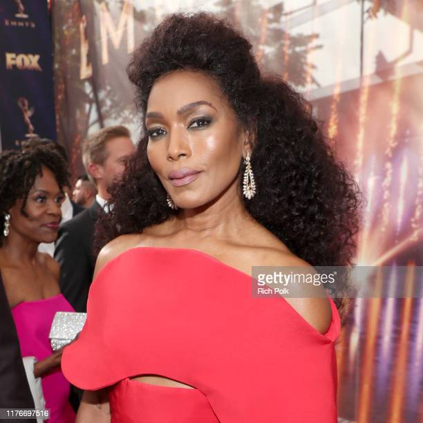 Angela Bassett attends IMDb LIVE After the Emmys Presented by CBS All Access on September 22, 2019 in Los Angeles, California.