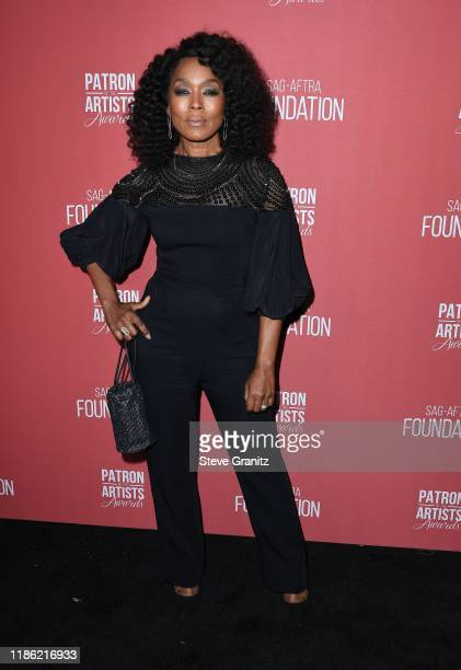 Angela Bassett attends SAGAFTRA Foundation's 4th Annual Patron of the Artists Awards at Wallis Annenberg Center for the Performing Arts on November...