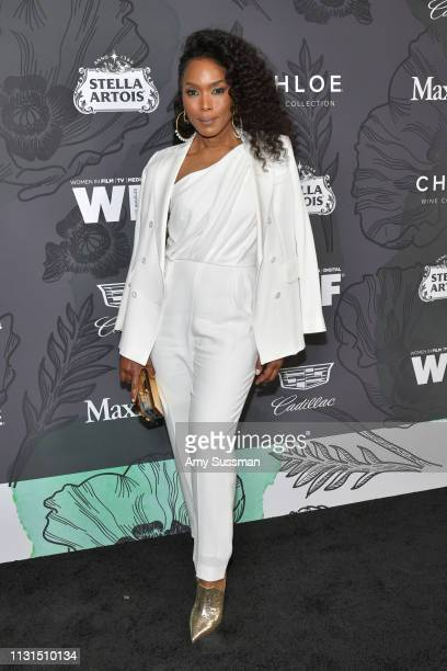 Angela Bassett attends the 12th Annual Women In Film Oscar Party at Spring Place on February 22 2019 in Beverly Hills California