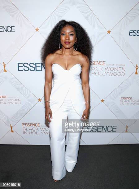 Angela Bassett attends the 2018 Essence Black Women In Hollywood Oscars Luncheon at Regent Beverly Wilshire Hotel on March 1 2018 in Beverly Hills...