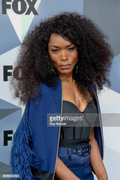 Angela Bassett attends the 2018 Fox Network Upfront at Wollman Rink Central Park on May 14 2018 in New York City