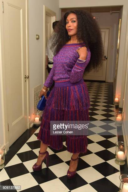 Angela Bassett attends the 2018 Gersh Oscar party presented by Tequila Don Julio 1942 at Chateau Marmont on March 1 2018 in Los Angeles California