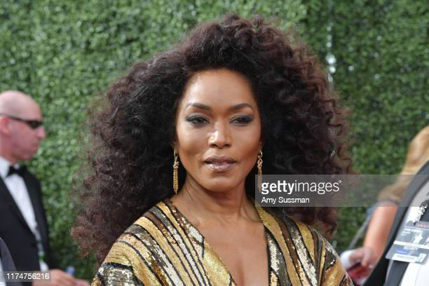Angela Bassett attends the 2019 Creative Arts Emmy Awards on September 14, 2019 in Los Angeles, California.