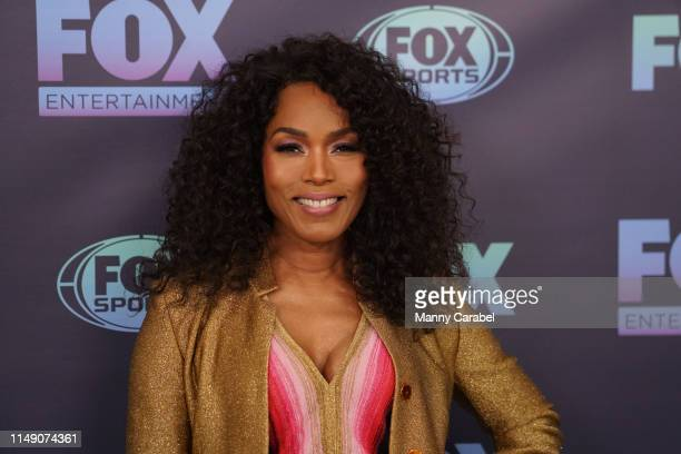 Angela Bassett attends the 2019 FOX Upfront at Wollman Rink, Central Park on May 13, 2019 in New York City.