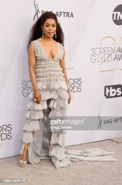 Angela Bassett attends the 25th Annual Screen Actors Guild Awards at The Shrine Auditorium on January 27 2019 in Los Angeles California 480645