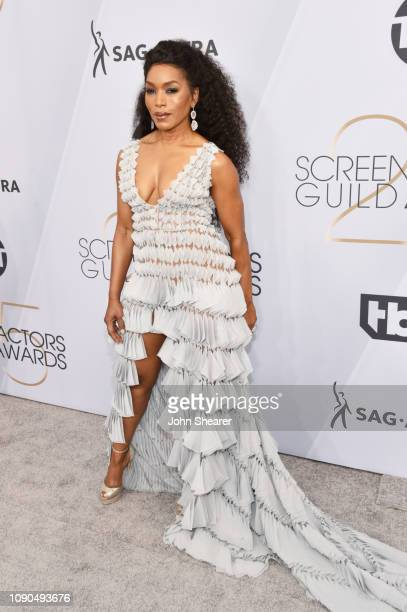 Angela Bassett attends the 25th Annual Screen ActorsGuild Awards at The Shrine Auditorium on January 27 2019 in Los Angeles California