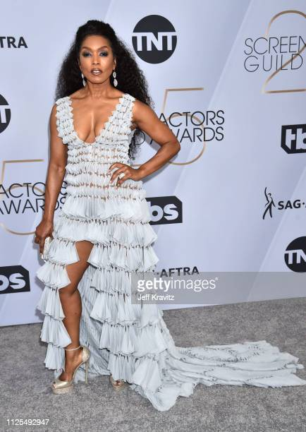 Angela Bassett attends the 25th Annual Screen Actors Guild Awards at The Shrine Auditorium on January 27 2019 in Los Angeles California
