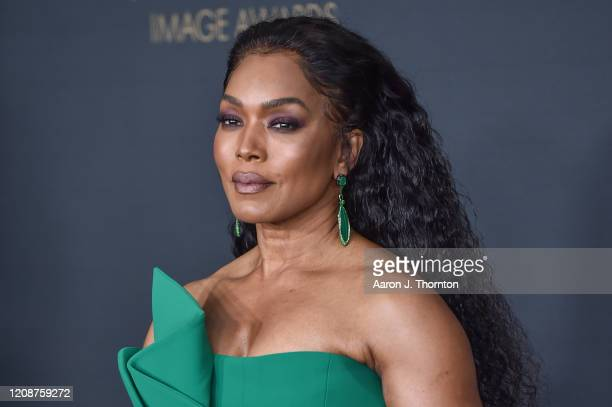 Angela Bassett attends the 51st NAACP Image Awards at the Pasadena Civic Auditorium on February 22, 2020 in Pasadena, California.
