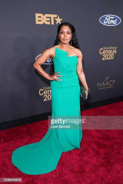 Angela Bassett attends the 51st NAACP Image Awards Presented by BET at Pasadena Civic Auditorium on February 22 2020 in Pasadena California