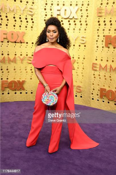 Angela Bassett attends the 71st Emmy Awards at Microsoft Theater on September 22, 2019 in Los Angeles, California.