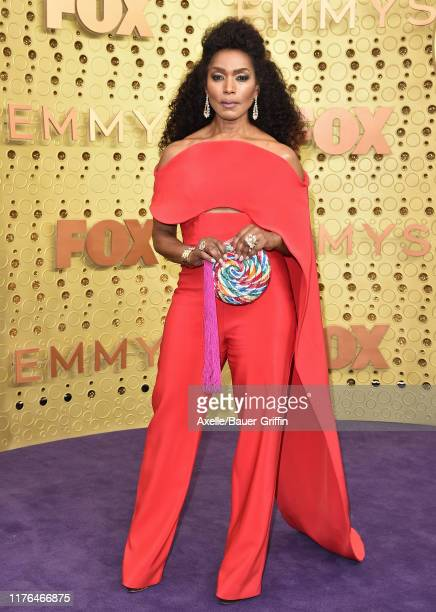 Angela Bassett attends the 71st Emmy Awards at Microsoft Theater on September 22 2019 in Los Angeles California