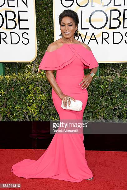 Angela Bassett attends the 74th Annual Golden Globe Awards at The Beverly Hilton Hotel on January 8 2017 in Beverly Hills California