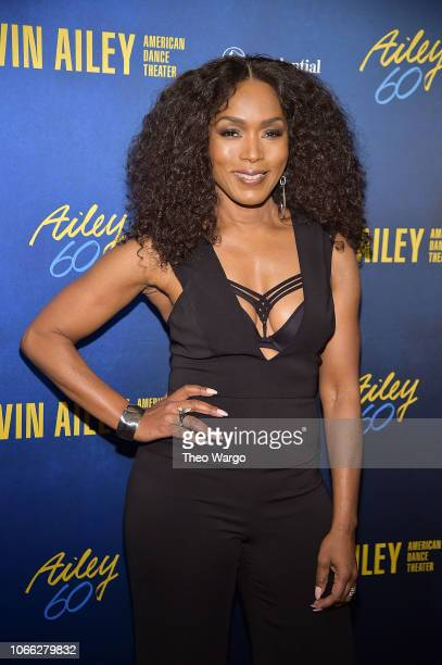 Angela Bassett attends the Alvin Ailey American Dance Theater's 60th Anniversary Opening Night Gala Benefit at New York City Center on November 28...