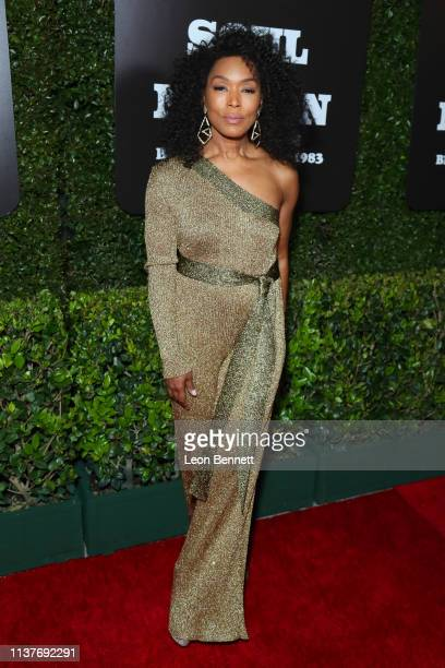 Angela Bassett attends The Broad Hosts West Coast Debut Of 'Soul Of A Nation Art In the Age Of Black Power 19631983' at The Broad on March 22 2019 in...