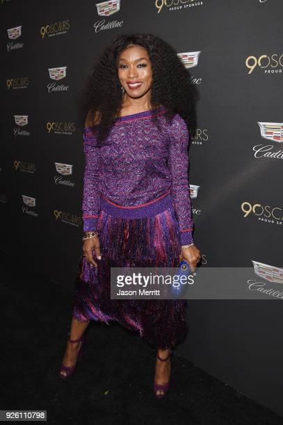 Angela Bassett attends the Cadillac Oscar Week Celebration at Chateau Marmont on March 1 2018 in Los Angeles California