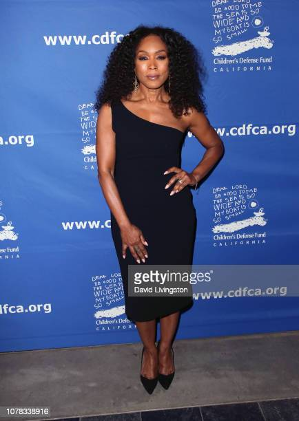 Angela Bassett attends the Children's Defense Fund California's 28th Annual Beat The Odds Awards at the Skirball Cultural Center on December 06 2018...
