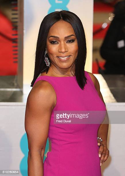 Angela Bassett attends the EE British Academy Film Awards at The Royal Opera House on February 14 2016 in London England