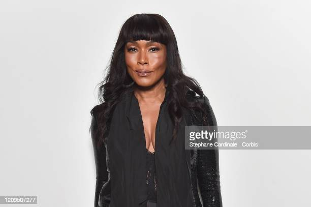 Angela Bassett attends the Elie Saab show as part of the Paris Fashion Week Womenswear Fall/Winter 2020/2021 on February 29, 2020 in Paris, France.