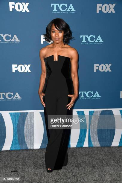 Angela Bassett attends the FOX AllStar Party during the 2018 Winter TCA Tour at The Langham Huntington Pasadena on January 4 2018 in Pasadena...