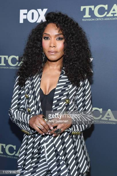 Angela Bassett attends the Fox Winter TCA at The Fig House on February 06 2019 in Los Angeles California
