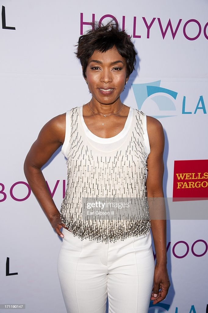Angela Bassett attends the Hollywood Bowl Hall Of Fame Opening Night at The Hollywood Bowl on June 22, 2013 in Los Angeles, California.