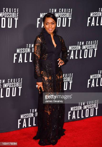 Angela Bassett attends the 'Mission Impossible Fallout' US Premiere at Lockheed Martin IMAX Theater at the Smithsonian National Air Space Museum on...