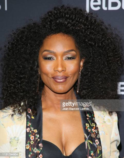 Angela Bassett attends the Paley Center For Media's 2019 PaleyFest LA '911' held at the Dolby Theater on March 17 2019 in Los Angeles California