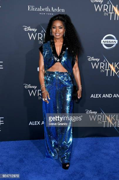 Angela Bassett attends the premiere of Disney's 'A Wrinkle In Time' at the El Capitan Theatre on February 26 2018 in Los Angeles California