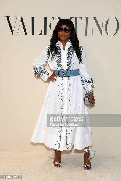 Angela Bassett attends the Valentino show as part of the Paris Fashion Week Womenswear Fall/Winter 2020/2021 on March 01, 2020 in Paris, France.