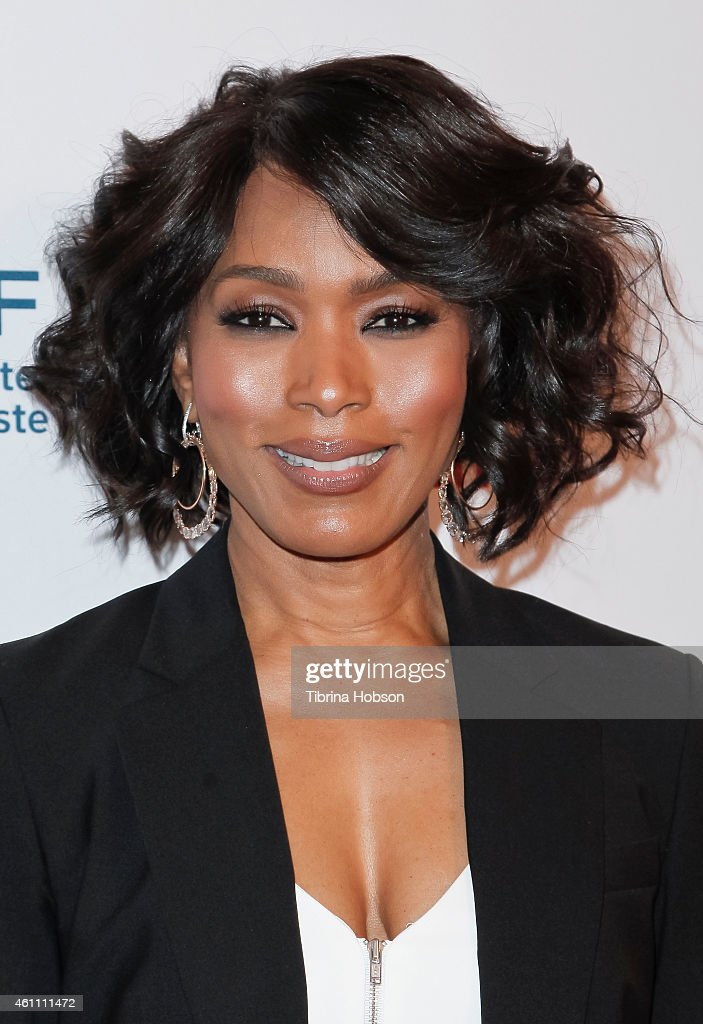 Angela Bassett attends the world premiere of Lifetime's 'Whitney' at The Paley Center for Media on January 6, 2015 in Beverly Hills, California.