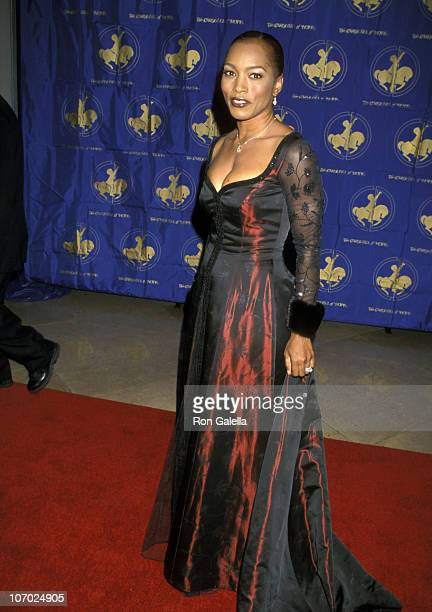 Angela Bassett during 13th Annual Carousel of Hope Ball Benefiting Childrens Diabetes at Beverly Hilton Hotel in Beverly Hills California United...