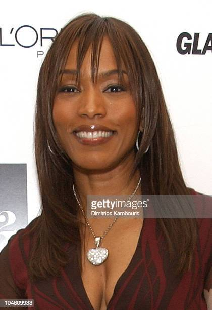 Angela Bassett during 13th Annual Glamour Magazine's Women of the Year Awards Backstage at Metropolitan Museum of Art in New York City New York...