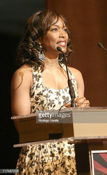Angela Bassett during 2004 American Black Film Festival Film Life Movie Awards Show at Jackie Gleason Theatre in Miami Beach Florida United States