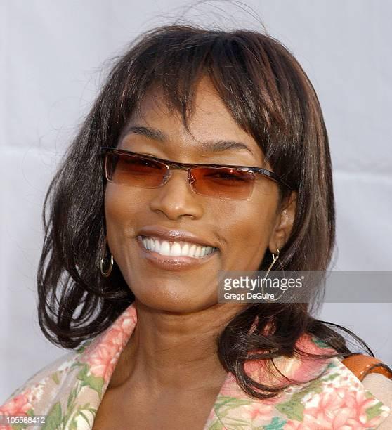 Angela Bassett during 2004 Dream Halloween Fundraiser For Children Affected by AIDS Foundation at Barker Hangar in Santa Monica California United...