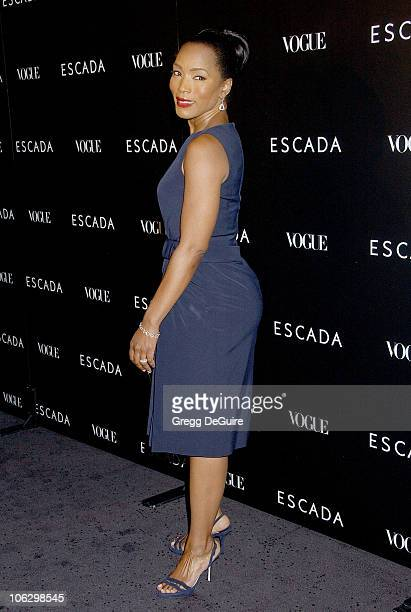Angela Bassett during Escada Grand Opening Of The Beverly Hills Flagship Boutique Arrivals at Escada Beverly Hills in Beverly Hills California United...