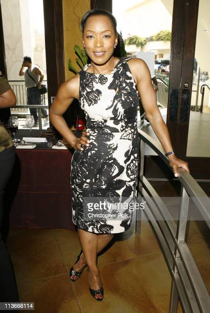 Angela Bassett during Forest Whitaker Honored with a Star on the Hollywood Walk of Fame - Luncheon at Vert in Los Angeles, California, United States.