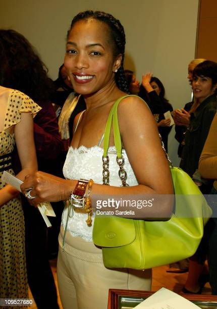 Angela Bassett during Tod's Beverly Hills Boutique Charity Event To Benefit Caring For Children Families With Aids at Tod's Beverly Hills Boutique in...