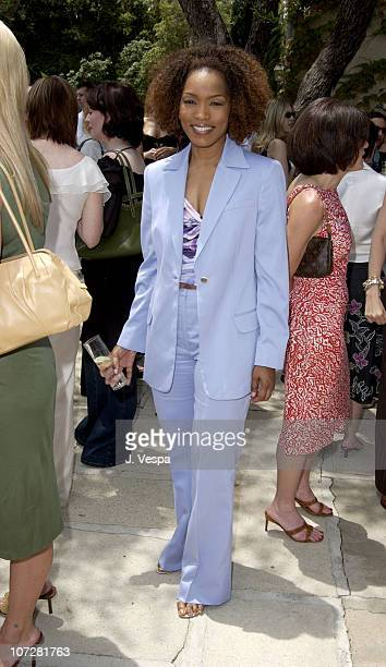 Angela Bassett during Versace Luncheon to Benefit Children's Action NetworkWestside Children's Center Sponsored By 'InStyle' Magazine at Private Home...