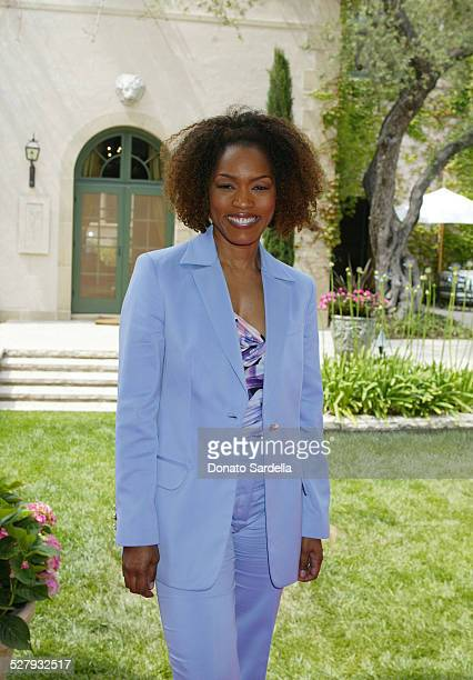 Angela Bassett during Versace Luncheon to Benefit Children's Action NetworkWestside Children's Center Sponsored By InStyle Magazine at Private Home...