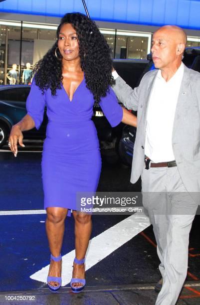 Angela Bassett is seen on July 23 2018 in New York City
