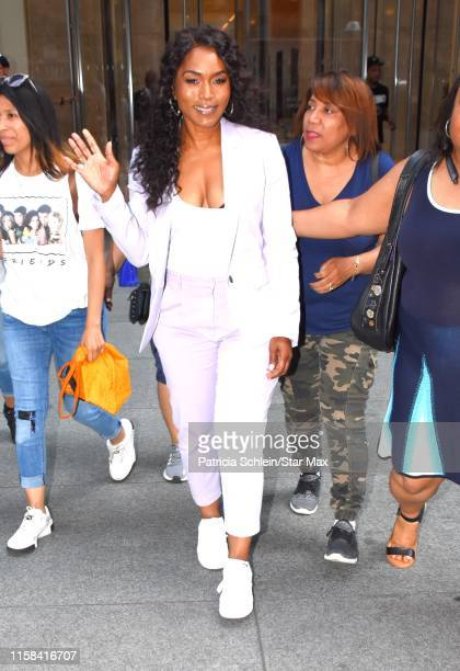 Angela Bassett is seen on July 29, 2019 in New York City.