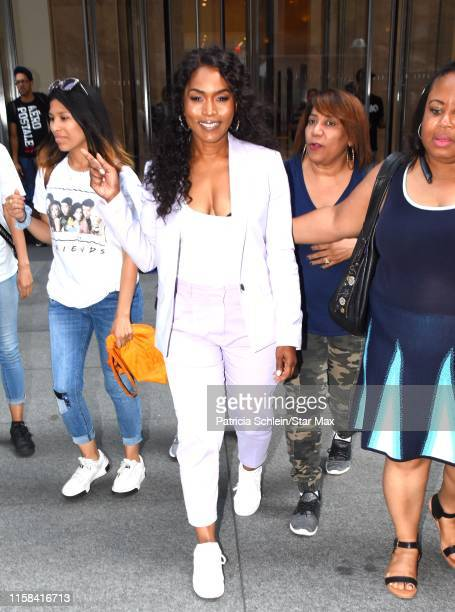 Angela Bassett is seen on July 29 2019 in New York City