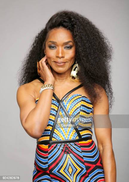 Angela Bassett poses for a portrait during the 2018 American Black Film Festival Honors Awards at The Beverly Hilton Hotel on February 25 2018 in...