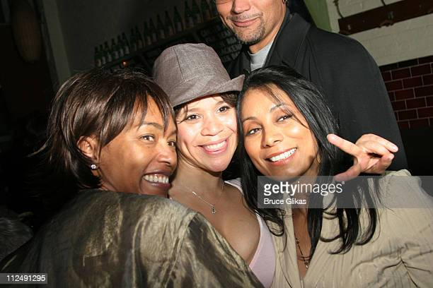 Angela Bassett Rosie Perez and Wanda De Jesus during Neil Labute's 'This Is How It Goes' Opening Night After Party Inside at BBar in New York City...