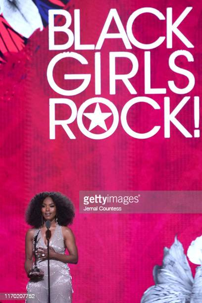 Angela Bassett speaks onstage at Black Girls Rock 2019 Hosted By Niecy Nash at NJPAC on August 25 2019 in Newark New Jersey